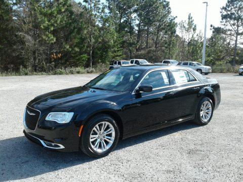 Gloss Black Chrysler 300 Touring.  Click to enlarge.