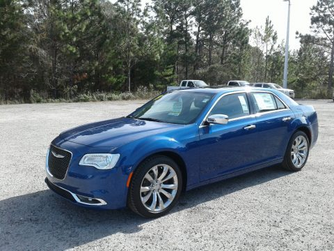 Ocean Blue Metallic Chrysler 300 Limited.  Click to enlarge.