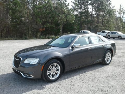Granite Crystal Metallic Chrysler 300 Touring.  Click to enlarge.