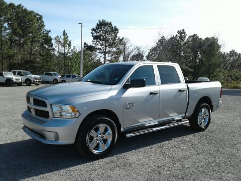 Bright Silver Metallic Ram 1500 Classic Big Horn Crew Cab 4x4.  Click to enlarge.