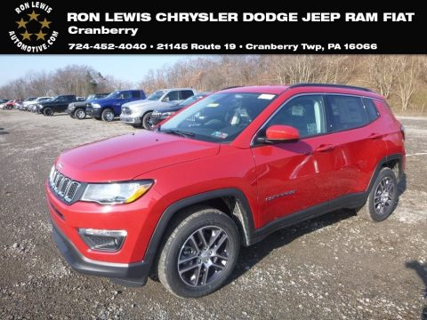 Red-Line Pearl Jeep Compass Latitude 4x4.  Click to enlarge.