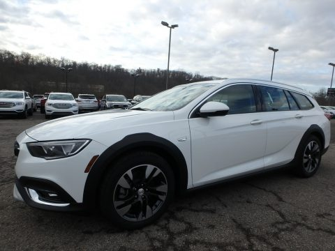 Summit White Buick Regal TourX Preferred AWD.  Click to enlarge.