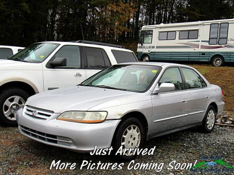 Satin Silver Metallic Honda Accord LX Sedan.  Click to enlarge.