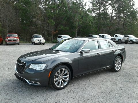 Granite Crystal Metallic Chrysler 300 Limited.  Click to enlarge.