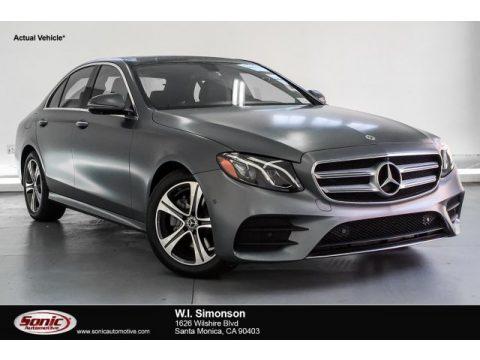 designo Selenite Grey Magno (Matte) Mercedes-Benz E 300 Sedan.  Click to enlarge.