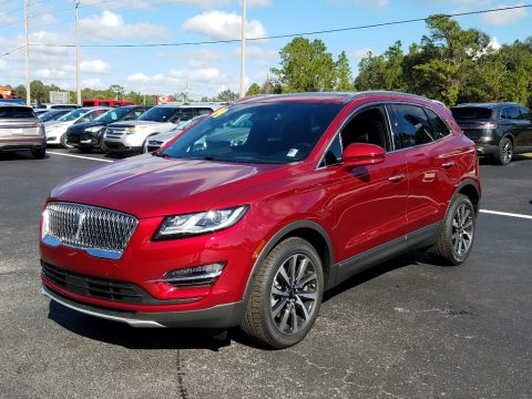 Ruby Red Metallic Lincoln MKC Reserve.  Click to enlarge.