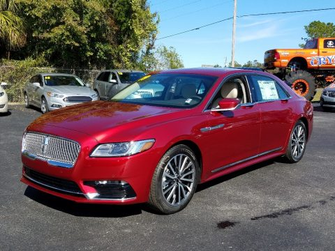 Ruby Red Metallic Lincoln Continental Select.  Click to enlarge.