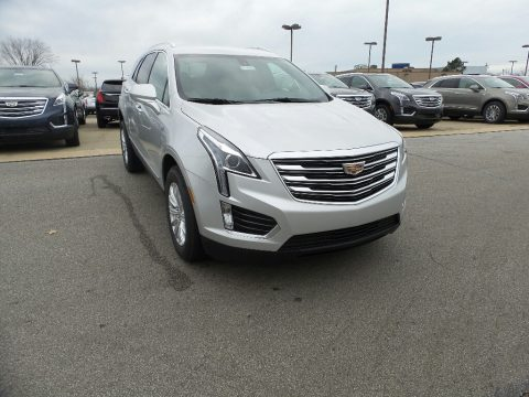 Radiant Silver Metallic Cadillac XT5 .  Click to enlarge.