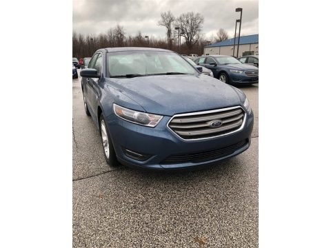 Blue Ford Taurus SEL.  Click to enlarge.