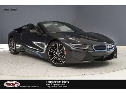 Sophisto Grey Metallic BMW I8 Roadster.  Click to enlarge.