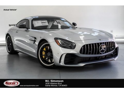 Iridium Silver Metallic Mercedes-Benz AMG GT R Coupe.  Click to enlarge.