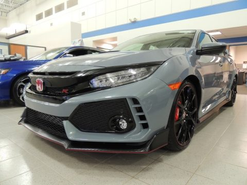 Sonic Gray Pearl Honda Civic Type R.  Click to enlarge.
