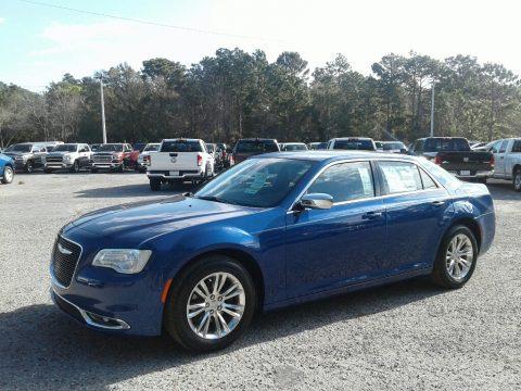 Ocean Blue Metallic Chrysler 300 Touring.  Click to enlarge.
