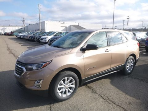Sandy Ridge Metallic Chevrolet Equinox LS AWD.  Click to enlarge.