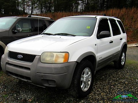Oxford White Ford Escape XLT V6 4WD.  Click to enlarge.