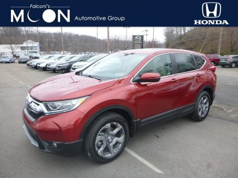 Basque Red Pearl II Honda CR-V EX-L AWD.  Click to enlarge.