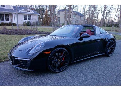 Black Porsche 911 Targa 4S.  Click to enlarge.