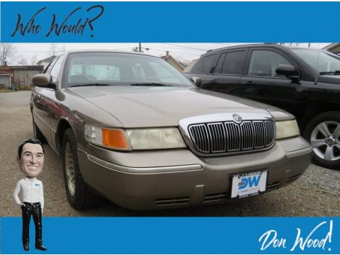 Spruce Green Metallic Mercury Grand Marquis LS.  Click to enlarge.