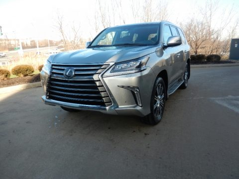 Atomic Silver Lexus LX 570.  Click to enlarge.