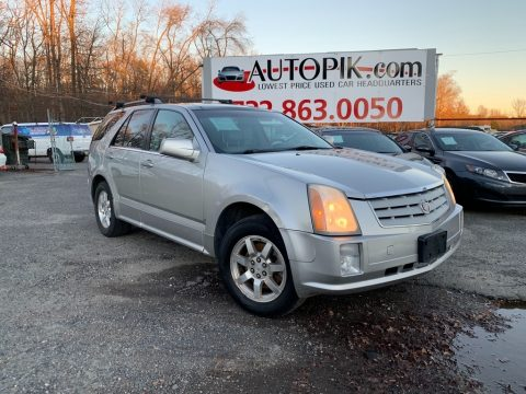 Light Platinum Cadillac SRX V6.  Click to enlarge.