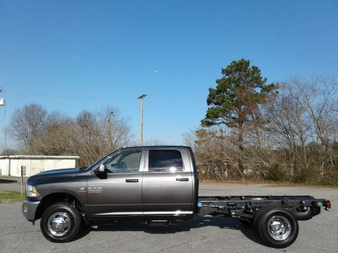 Granite Crystal Metallic Ram 3500 Tradesman Crew Cab 4x4 Chassis.  Click to enlarge.