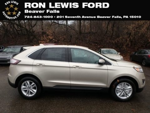 White Gold Ford Edge SEL AWD.  Click to enlarge.
