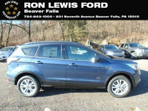 Blue Metallic Ford Escape SE 4WD.  Click to enlarge.