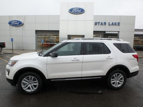 Oxford White Ford Explorer XLT 4WD.  Click to enlarge.