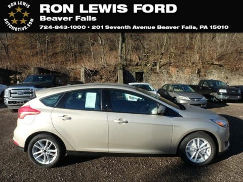 White Gold Ford Focus SE Hatch.  Click to enlarge.