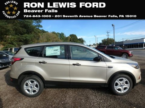 White Gold Ford Escape S.  Click to enlarge.