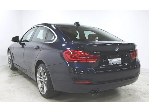 Imperial Blue Metallic BMW 4 Series 430i xDrive Gran Coupe.  Click to enlarge.
