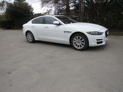 Fuji White Jaguar XE Premium AWD.  Click to enlarge.