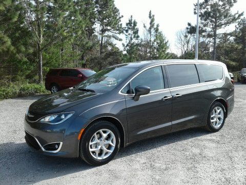 Granite Crystal Metallic Chrysler Pacifica Touring Plus.  Click to enlarge.