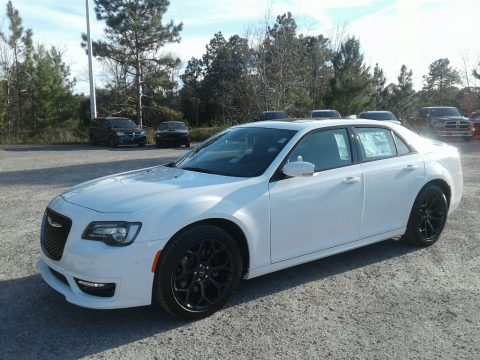 Bright White Chrysler 300 S.  Click to enlarge.