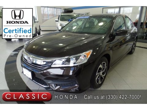 Kona Coffee Metallic Honda Accord LX Sedan.  Click to enlarge.