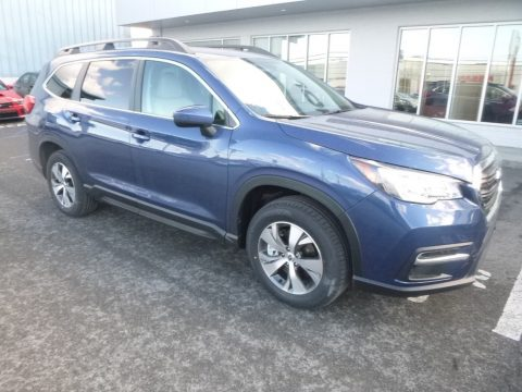 Abyss Blue Pearl Subaru Ascent Premium.  Click to enlarge.