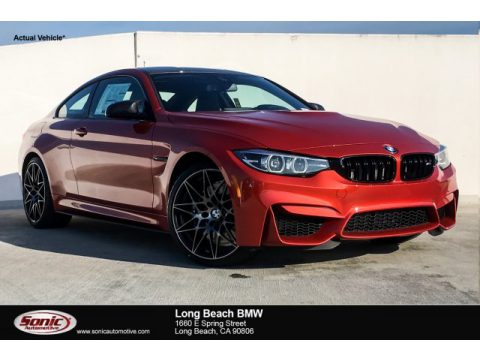Sakhir Orange Metallic BMW M4 Coupe.  Click to enlarge.