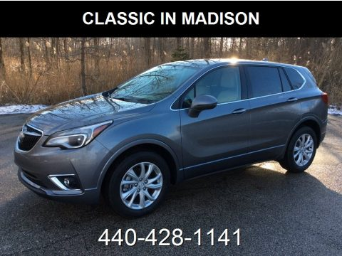 Satin Steel Gray Metallic Buick Envision Preferred AWD.  Click to enlarge.