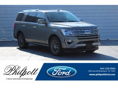 Silver Spruce Metallic Ford Expedition Limited.  Click to enlarge.