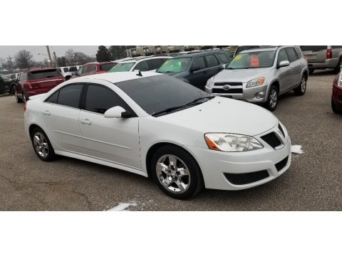 Summit White Pontiac G6 Sedan.  Click to enlarge.