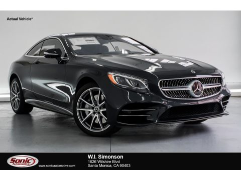 Magnetite Black Metallic Mercedes-Benz S 560 4Matic Coupe.  Click to enlarge.