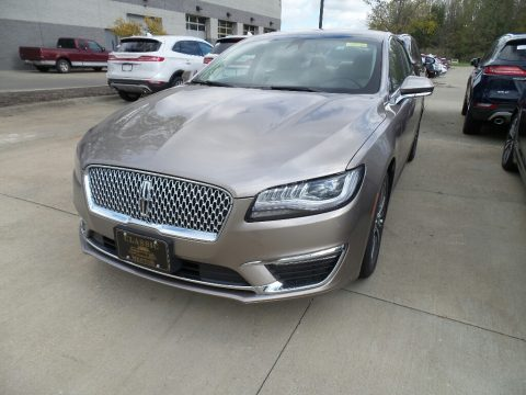 Iced Mocha Metallic Lincoln MKZ FWD.  Click to enlarge.