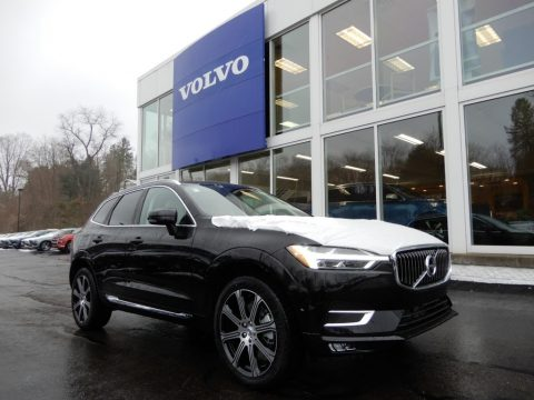 Onyx Black Metallic Volvo XC60 T6 AWD Inscription.  Click to enlarge.