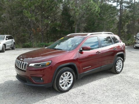 Velvet Red Pearl Jeep Cherokee Latitude.  Click to enlarge.