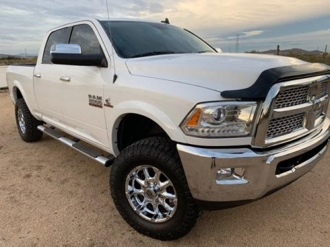 Bright White Ram 2500 Laramie Crew Cab 4x4.  Click to enlarge.