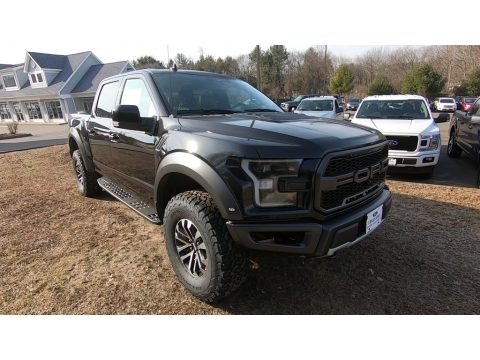 Agate Black Ford F150 SVT Raptor SuperCrew 4x4.  Click to enlarge.
