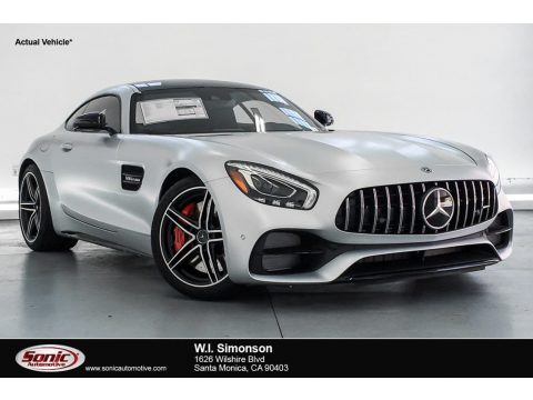 designo Iridium Silver Magno (Matte) Mercedes-Benz AMG GT C Coupe.  Click to enlarge.