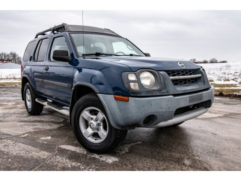 Just Blue Nissan Xterra XE 4x4.  Click to enlarge.