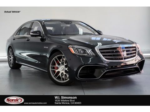Magnetite Black Metallic Mercedes-Benz S AMG 63 4Matic Sedan.  Click to enlarge.
