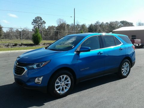 Kinetic Blue Metallic Chevrolet Equinox LT.  Click to enlarge.